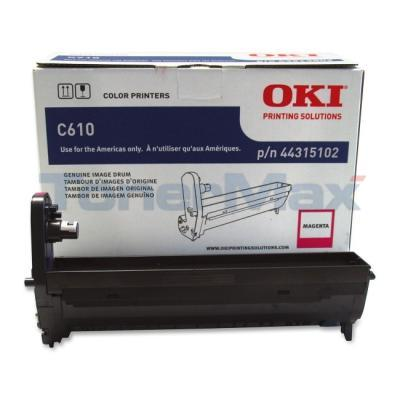 OKI C610 IMAGE DRUM MAGENTA